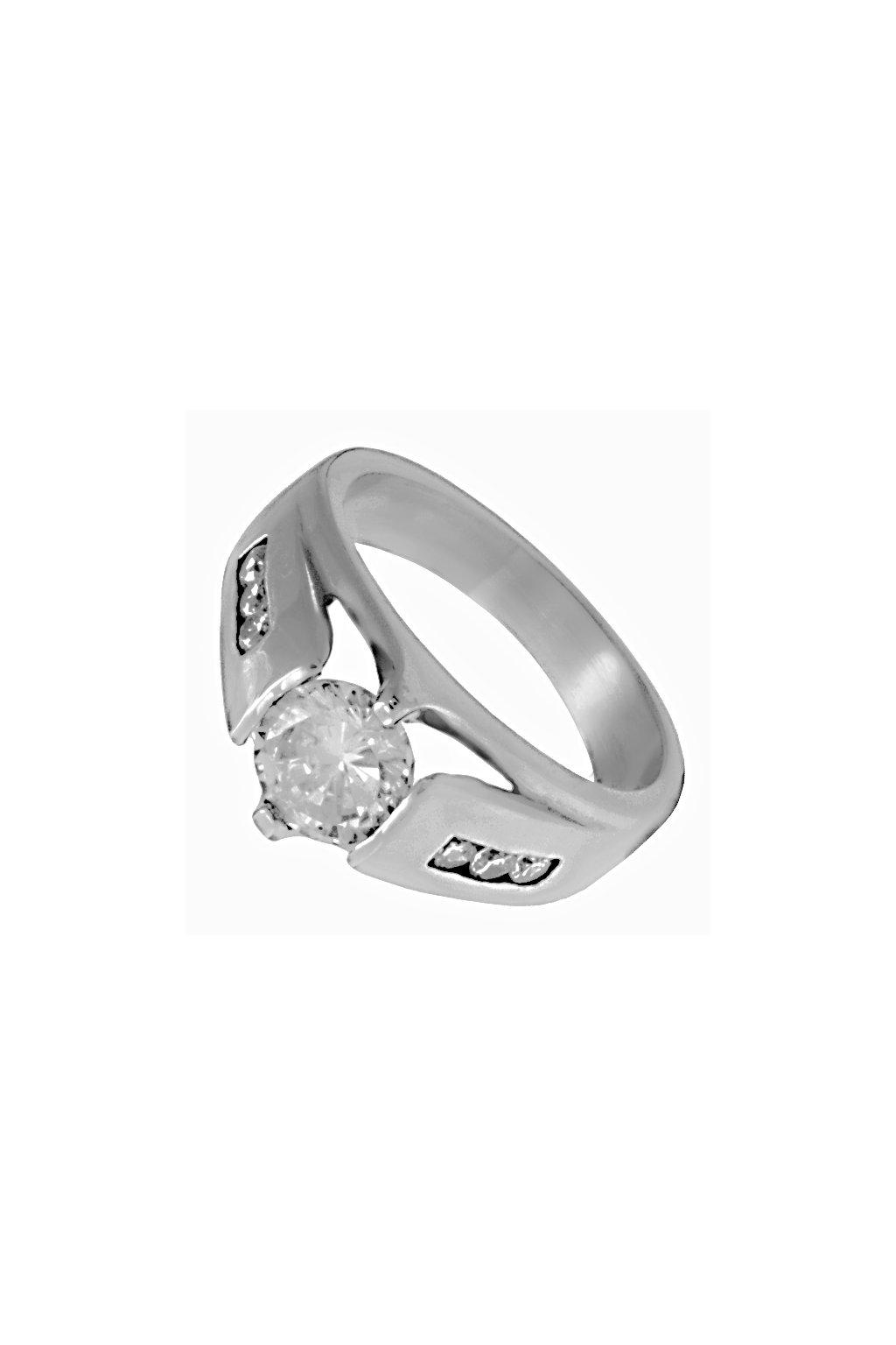 Skalimar Prsten z chirurgické oceli DIAMOND 312623