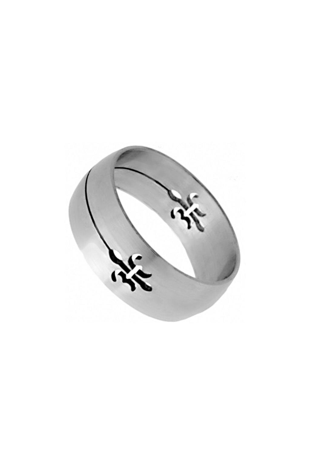 Skalimar Prsten z chirurgické oceli SKAUTSKÁ LILIE 212157