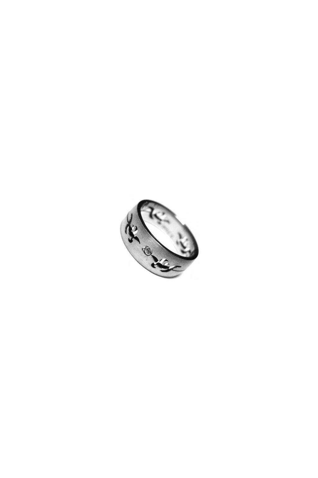 Skalimar Prsten z chirurgické oceli S ORNAMENTEM 212065