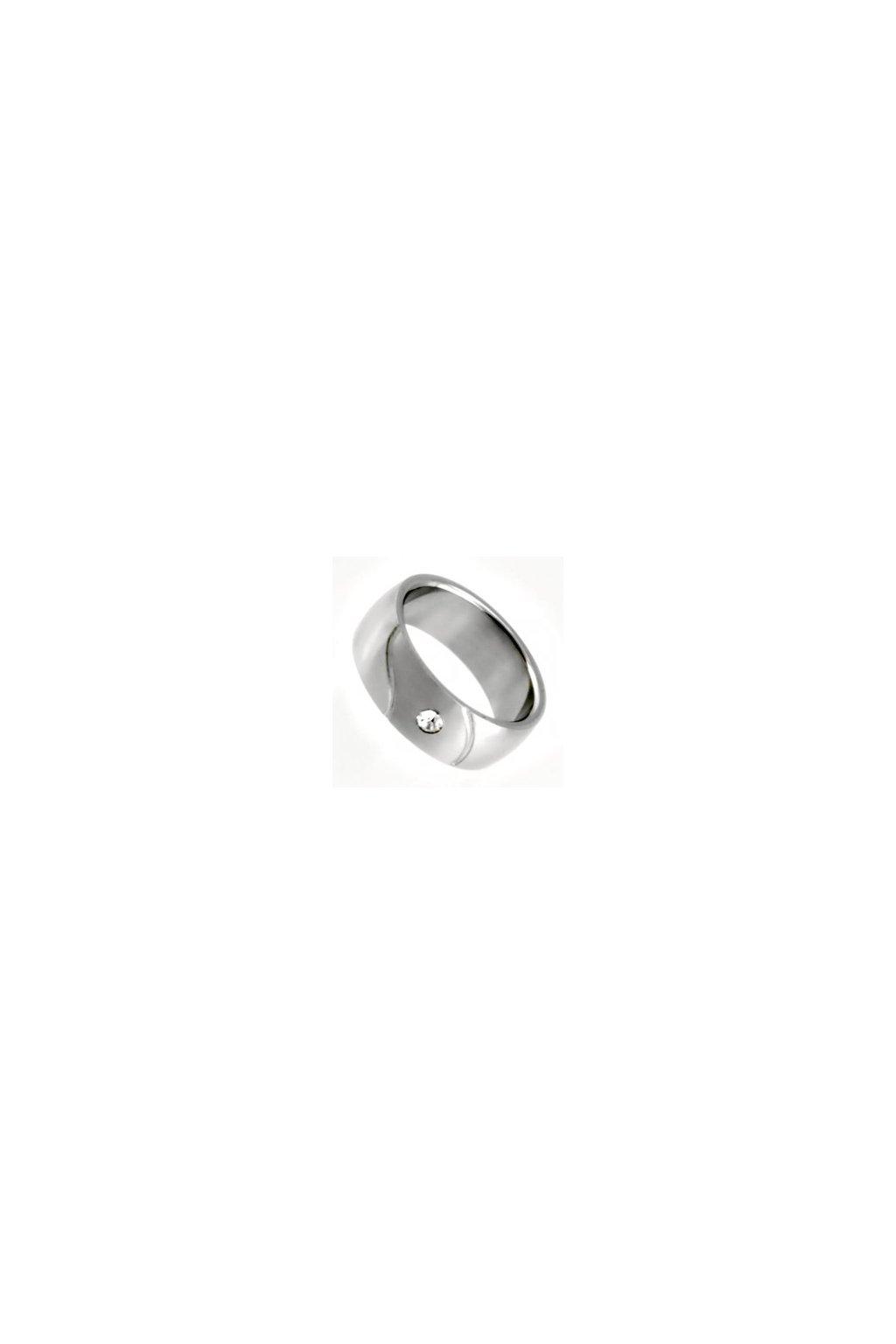 Skalimar Prsten z chirurgické oceli S KAMÍNKEM 212095