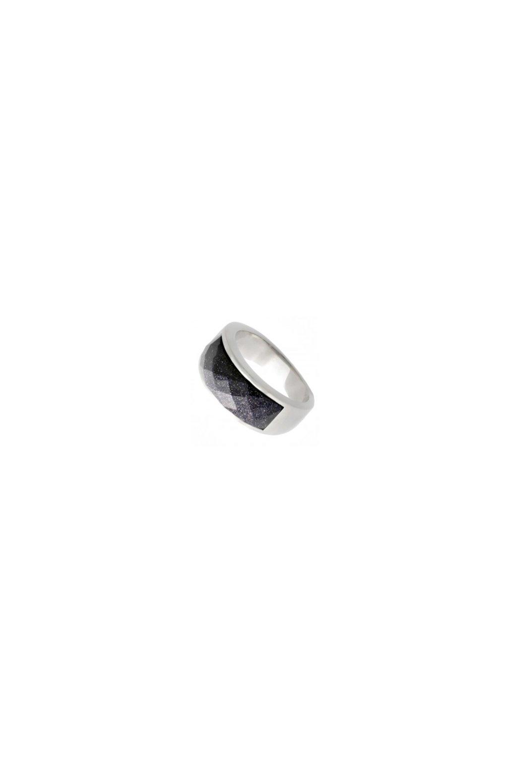 Skalimar Prsten z chirurgické oceli S MĚSÍČNÍM KAMENEM 212107