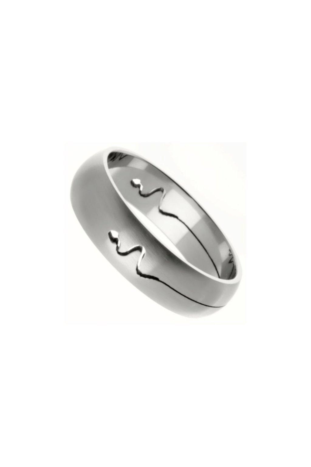 Skalimar Prsten z chirurgické oceli S ORNAMENTEM 212115
