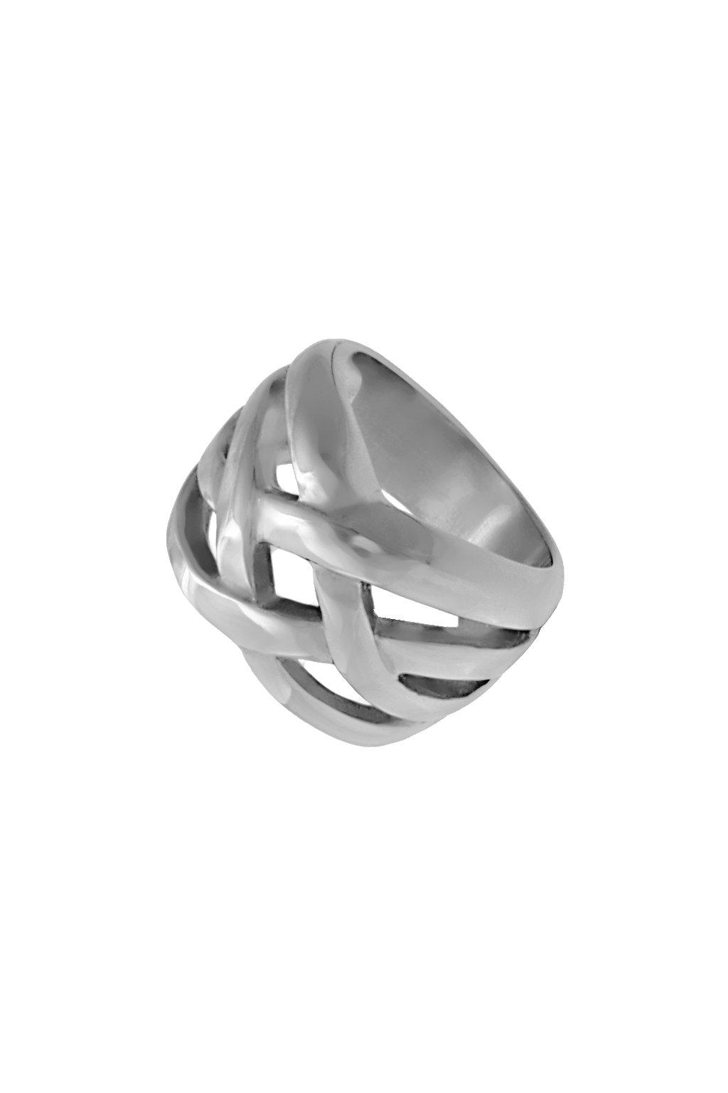Skalimar Prsten z chirurgické oceli PROPLÉTANÝ 312601