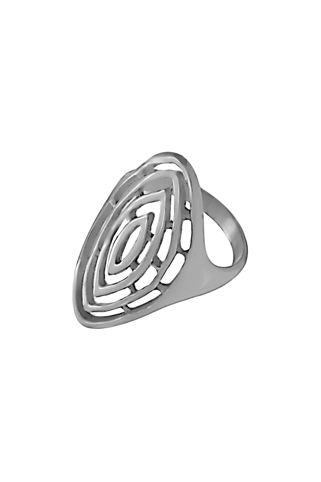 Skalimar Prsten z chirurgické oceli LABYRINTH 312611