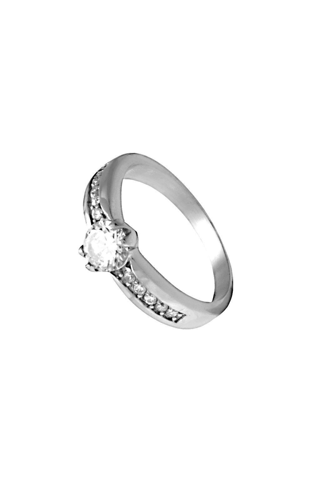 Skalimar Prsten z chirurgické oceli ZÁSNUBNÍ 312620
