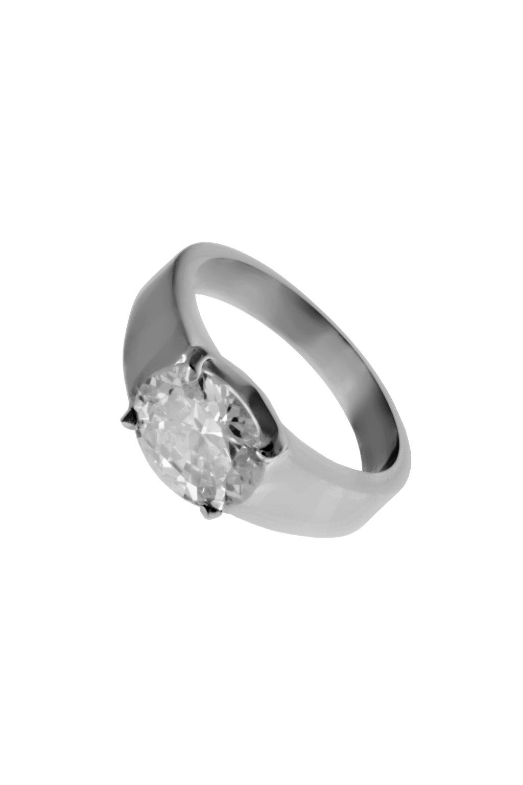 Skalimar Prsten z chirurgické oceli DIAMOND III. 312556