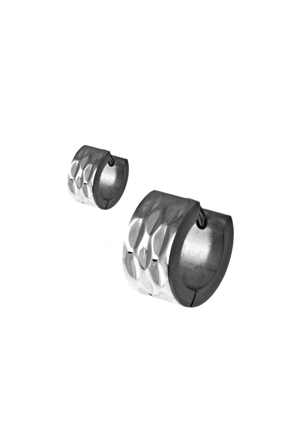 Skalimar Náušnice z chirurgické oceli KROUŽKY 45000604