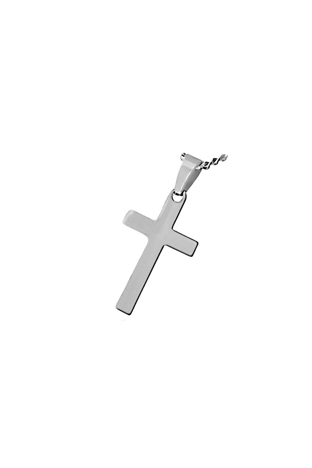 Skalimar Přívěsek z chirurgické oceli KŘÍŽEK SIMPLE 35001503