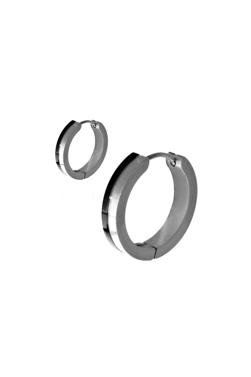 Skalimar Náušnice z chirurgické oceli KRUHY 614012/5