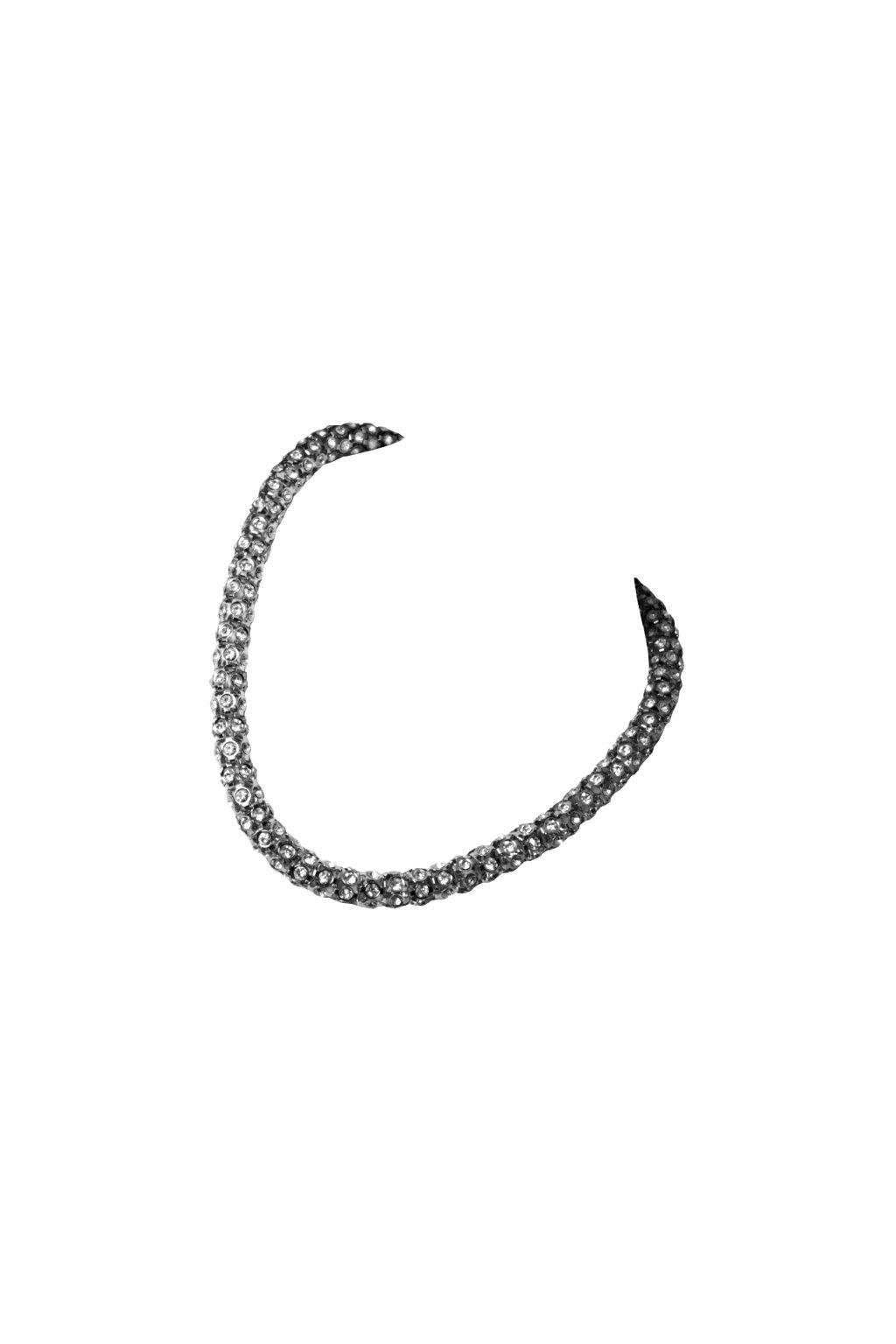 Skalimar náhrdelník z chirurgické oceli NÁHRDELNÍK SE ZIRKONY 151554489