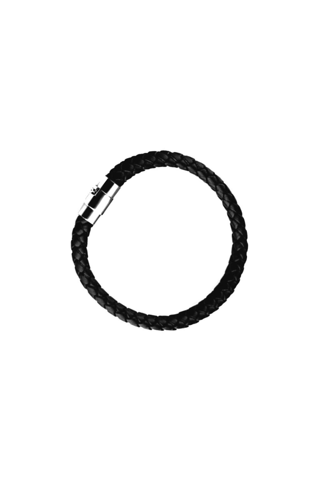 Skalimar Náramek z chirurgické oceli KŮŽE 311735/2