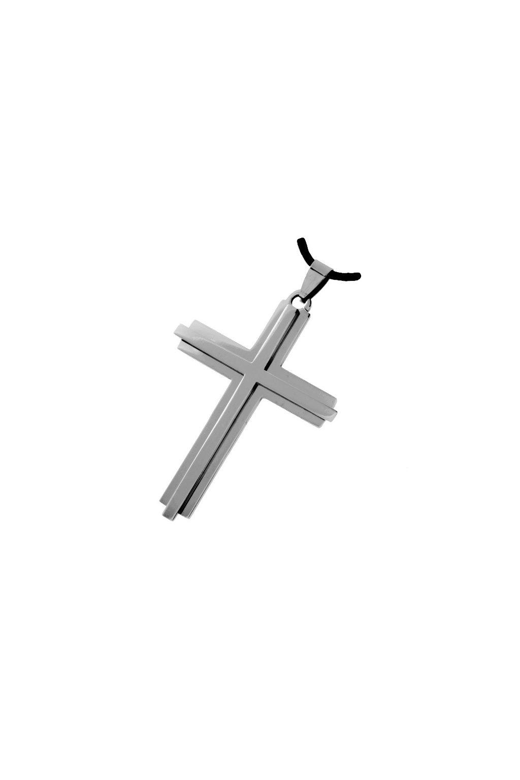 Skalimar Přívěsek z chirurgické oceli KŘÍŽ UNISEX 213389