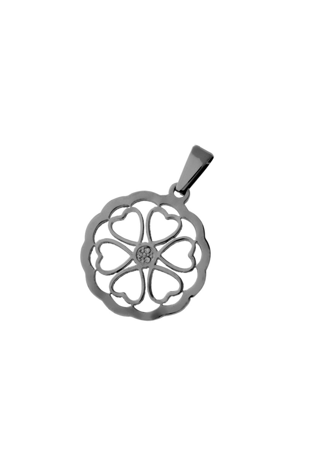 Skalimar Přívěsek z chirurgické oceli AMULET KYTKA 313653