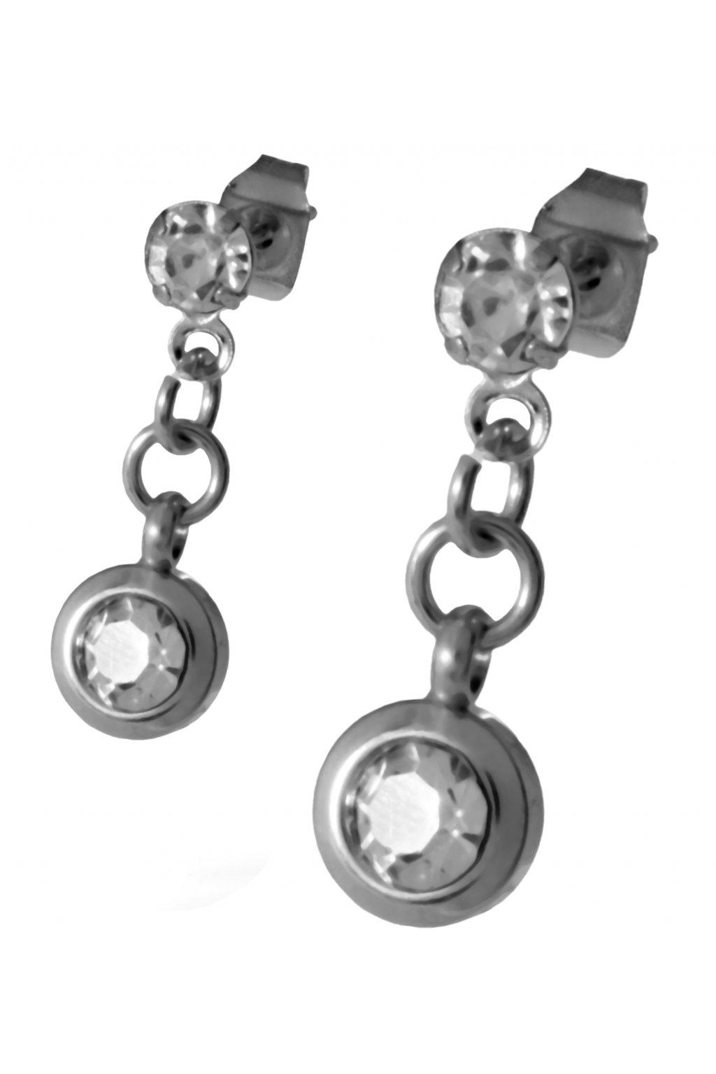 Skalimar Náušnice z chirurgické oceli ZÁVĚS 614047