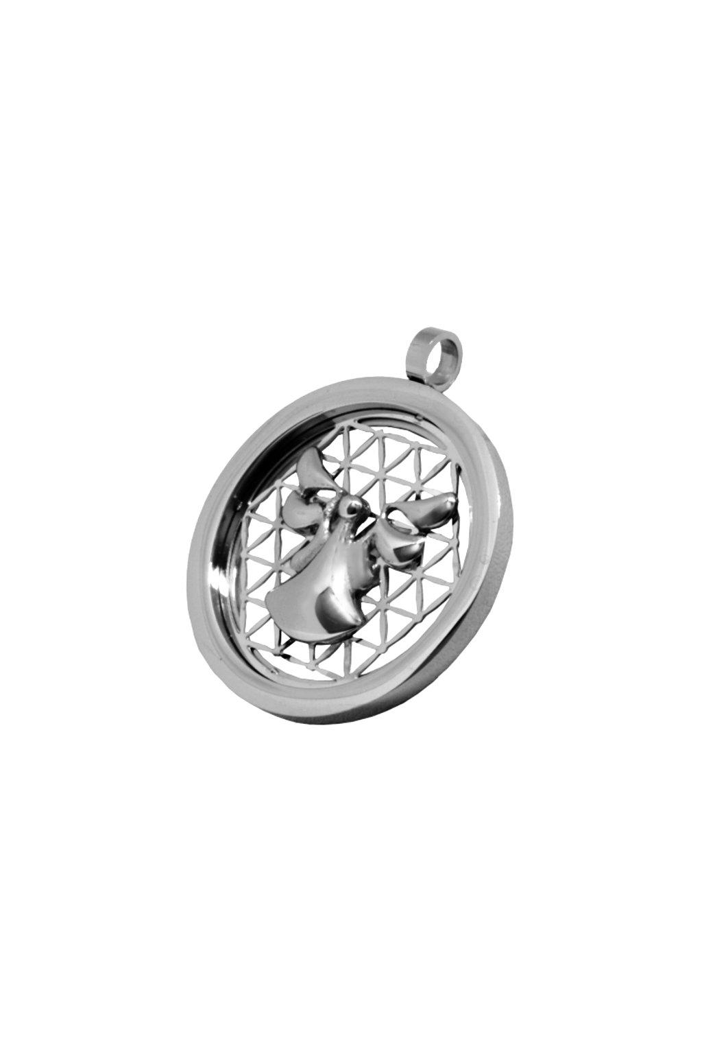Skalimar Přívěsek z chirurgické oceli ANDĚL 313680