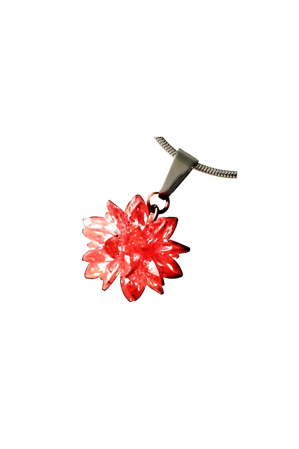 Skalimar Přívěsek z chirurgické oceli FASHION BOMB- červený 313700/1