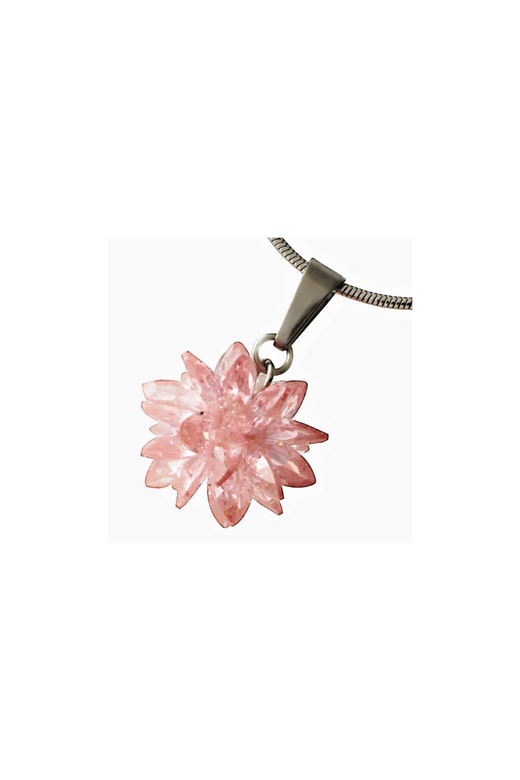 Skalimar Přívěsek z chirurgické oceli FASHION BOMB- růžový 313700/4