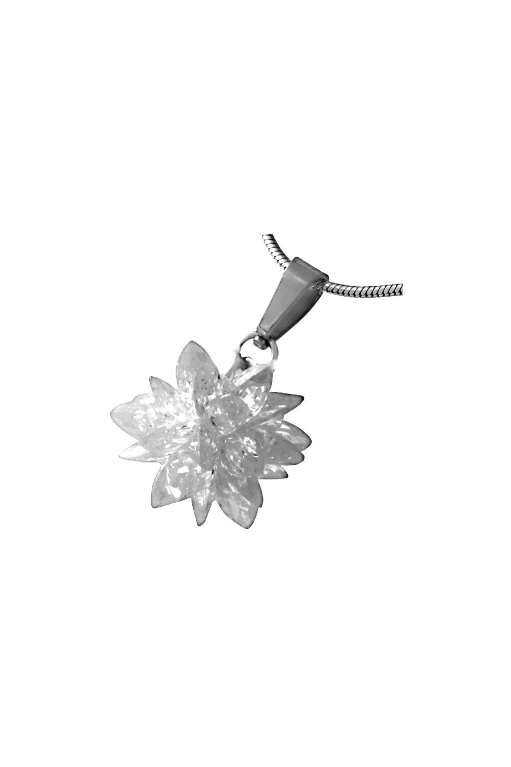Skalimar Přívěsek z chirurgické oceli FASHION BOMB - bílý 313700/21