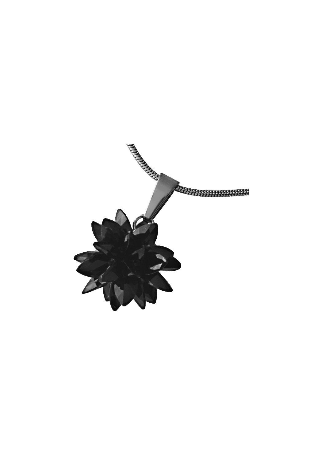 Skalimar Přívěsek z chirurgické oceli FASHION BOMB- černý 313700/22