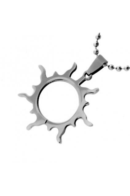 Skalimar Přívěsek z chirurgické oceli SLUNCE 213288