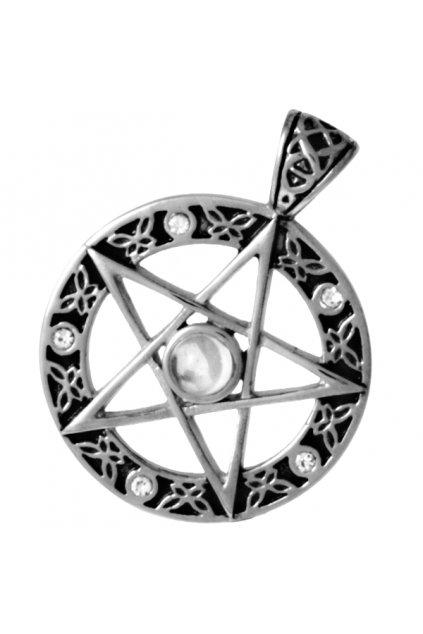 Přívěsek z chirurgické oceli PENTAGRAM