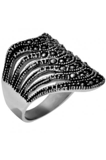 """Prsten z chirurgické oceli """"GHOTIC"""""""