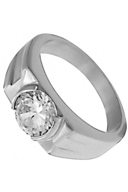 Skalimar Prsten z chirurgické oceli DIAMOND 312612