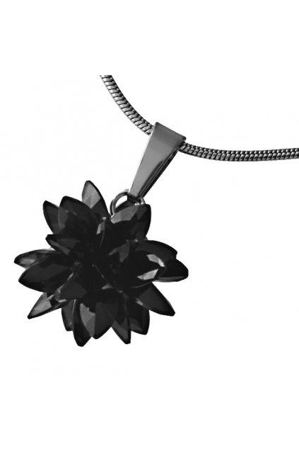 Skalimar Přívěsek z chirurgické oceli FASHION BOMB- černý 313700/33