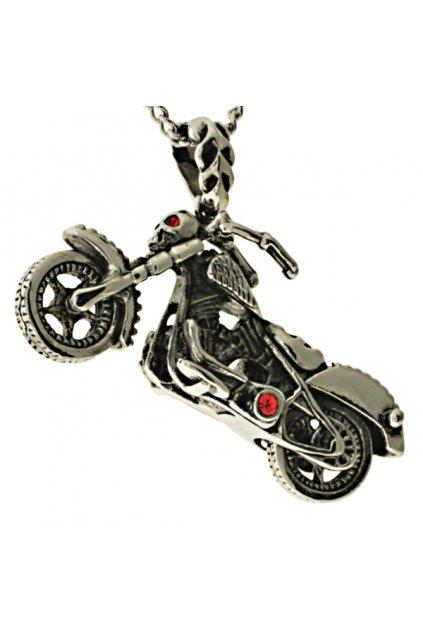 Skalimar Přívěsek z chirurgické oceli MOTORKA 38000808