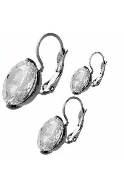 Skalimar Náušnice z chirurgické oceli DAIMOND 440035001