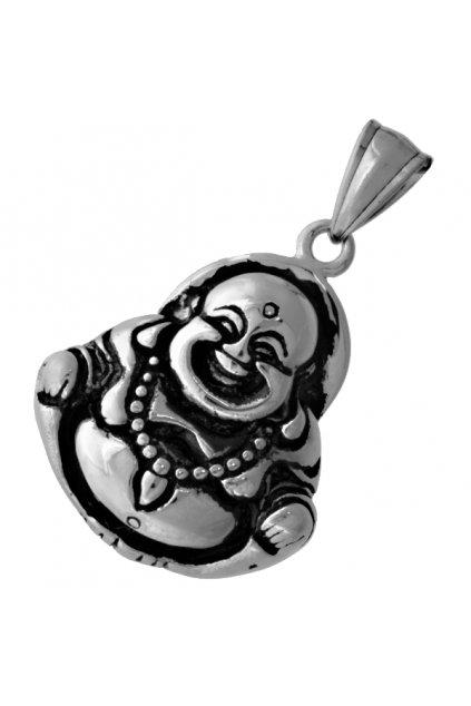 Skalimar Přívěsek z chirurgické oceli BUDHA PATINA 313550