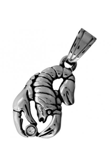 Skalimar Přívěsek z chirurgické oceli ZNAMENÍ– ŠTÍR 313606