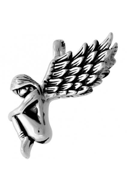 Skalimar Přívěsek z chirurgické oceli PADLÝ ANDĚL 38000155