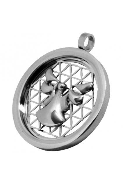 Přívěsek z chirurgické oceli ANDĚL