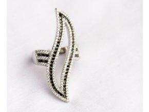 "Stříbrný prsten ""Brillo"""