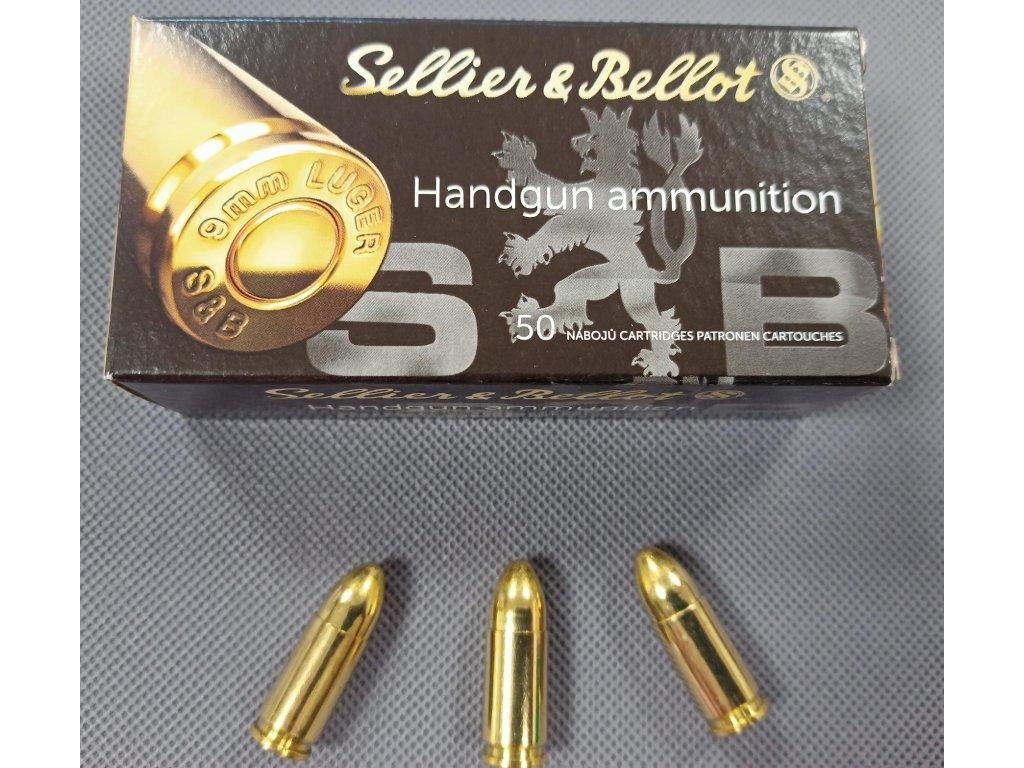 Pistolové náboje 9mm Luger FMJ