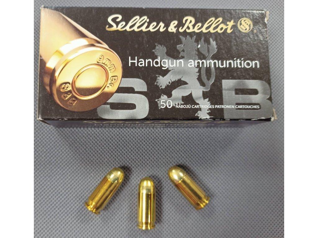 Pistolové náboje 9mm Browning