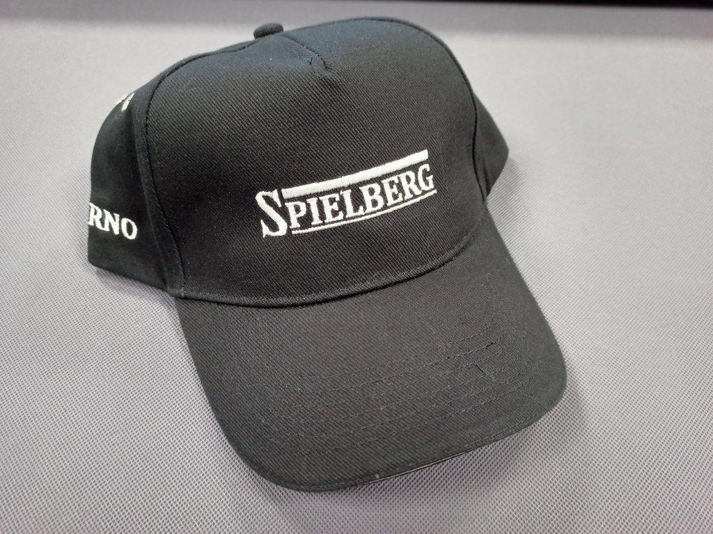Kšiltovka Spielberg černá