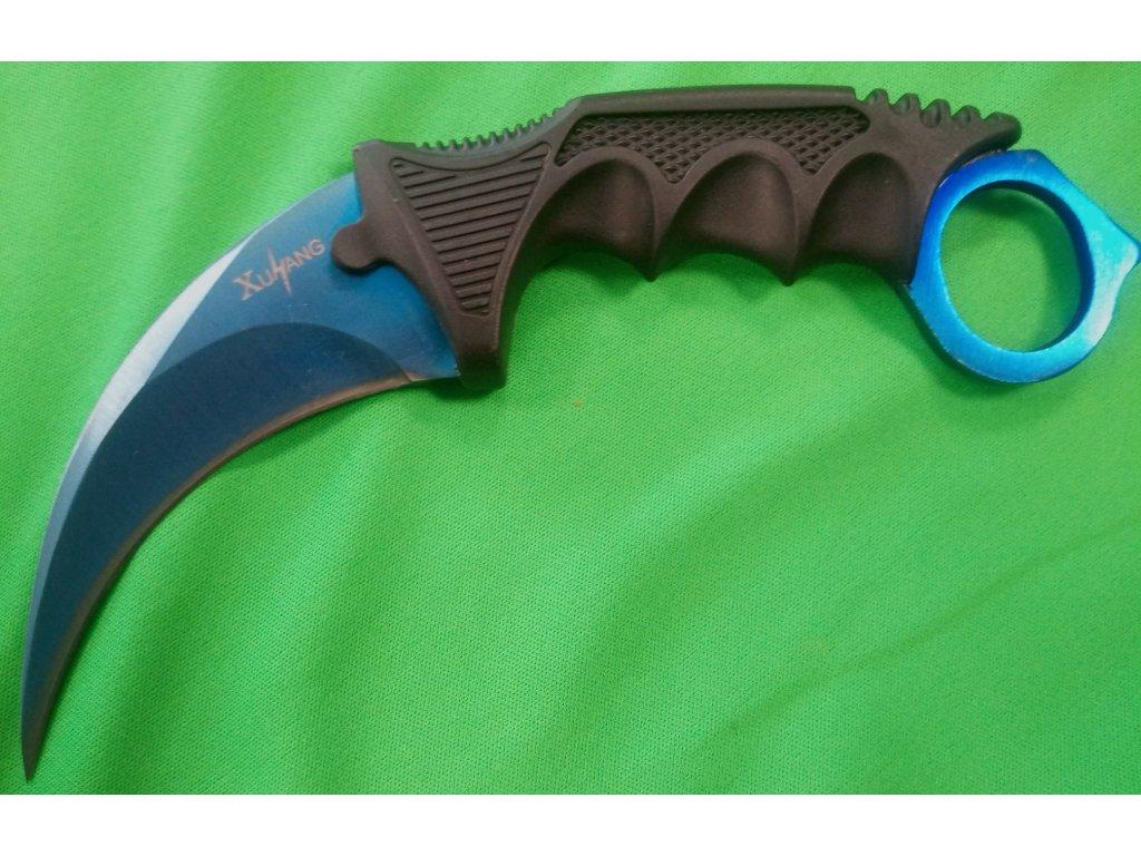 karambit modrý 1