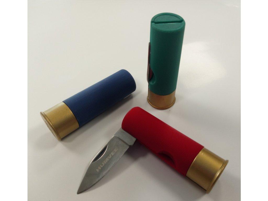 nůž náboj brok