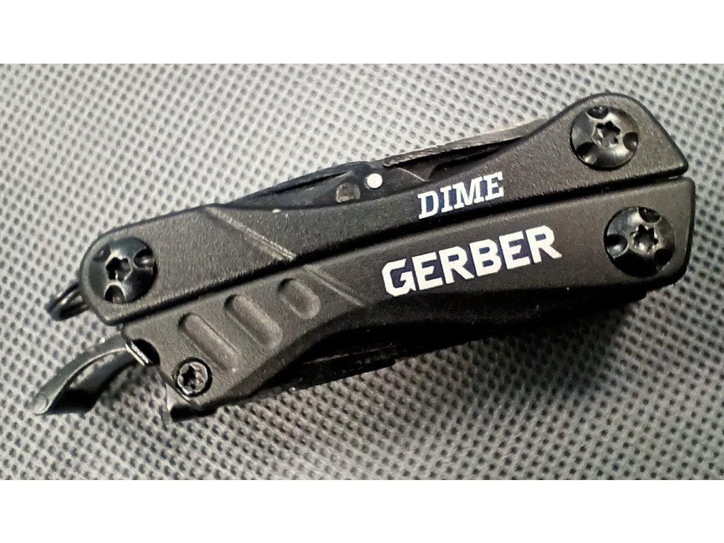 Multifunkční nástroj Gerber Dime - černý