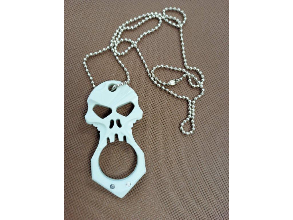 Obranný nástroj pro přežití Skull - plastový