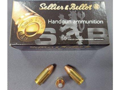 Pistolové náboje 9mm Luger SP