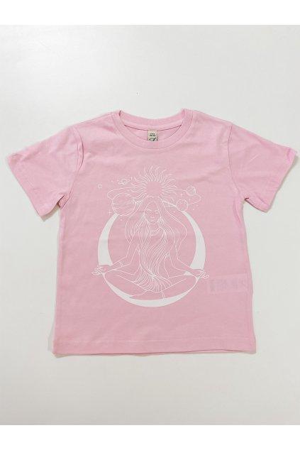 Dětské tričko - Meditace - holčička