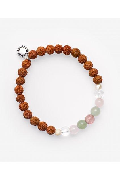 rudraksha perla ricni kristal ruzenin avanturin achat 6mm