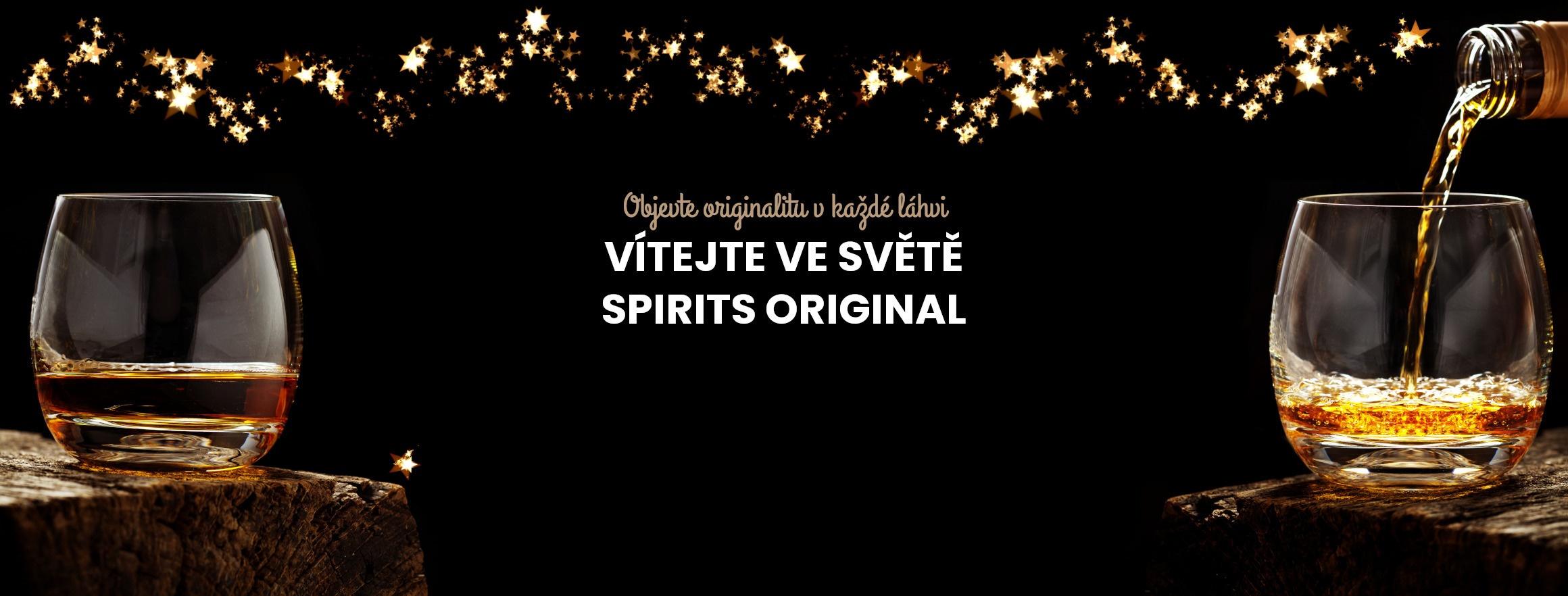 Vítejte ve světě SPIRITS Vánoce