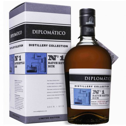 Diplomatico Distillery Collection No. Batch Kettle Rum + Podpis