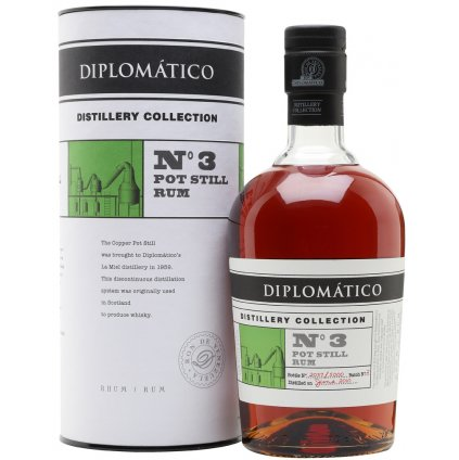 Diplomatico Distillery Collection No. Pot Still Rum
