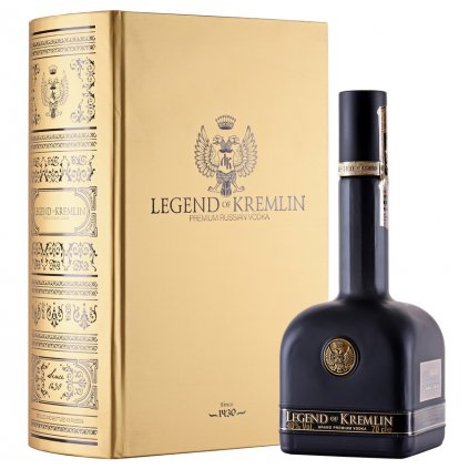 Legend of Kremlin Black in Gold Book