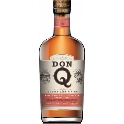 Don Q Double Aged Sherry Cask Finish